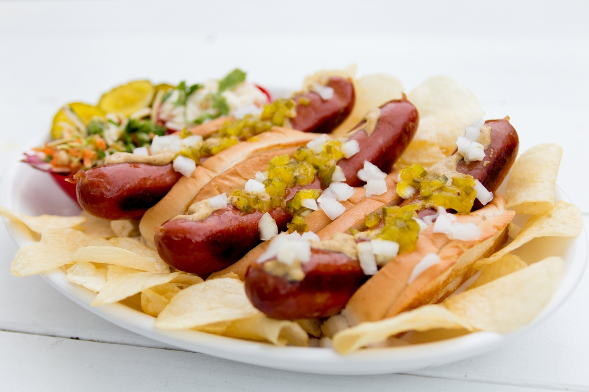 The Savage Wiener the ultimate gourmet hot dog
